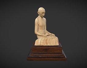 Ivory Gandhi v2 3D model