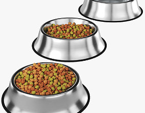 Pet stainless bowl 3D model