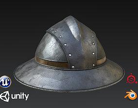 Guard Helmet 3D asset