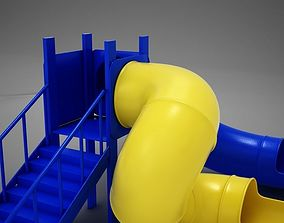 HD Playground Slide 3D