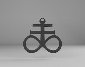 3D asset Brimstone pendant