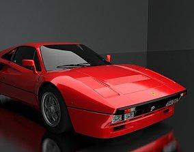 3D Ferrari 288 GTO