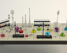 Equipment Chemistry Laboratory 3D model