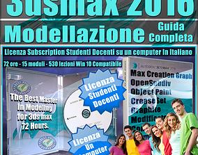 Corso 3ds max 2016 Modellazione Guida Completa Studenti