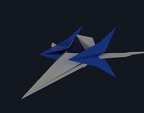 arwing star fox 3D model
