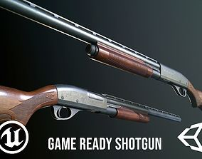 3D model FPS Shotgun