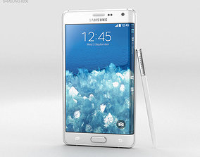 Samsung Galaxy Note Edge Frost White 3D model