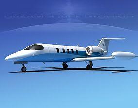 Gates Bombardier Learjet 35 V02 3D model
