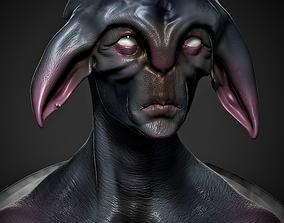 3D printable model Alien Bust STL