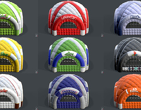 Inflatable Tent Collection 3D model