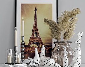 Decorative-set-with-frame 3D