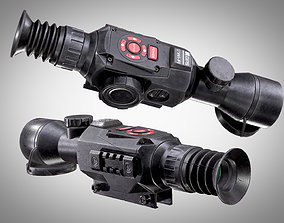 ATN X-Sight II HD 5-20X Optic AAA PBR Game Ready 3D model