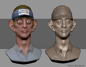 3D Postman Men in Black