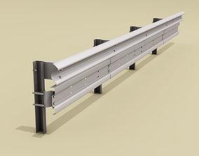 Guardrail bikers-saver 3D model
