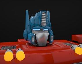 3D model machine Optimus Prime G1