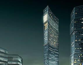 3d building 883