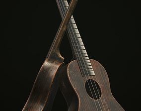 Ukelele Low-poly 3D model realtime