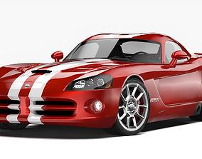 3D model Dodge Viper SRT10 2008 - 2010