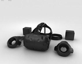 HTC Vive 3D model computer