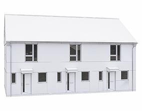 Neighborhood Houses P18 3D asset
