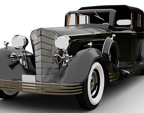 rigged Cadillac V-16 Vintage 3D model