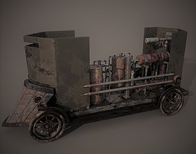 Flame Thrower Vehicle 3D model