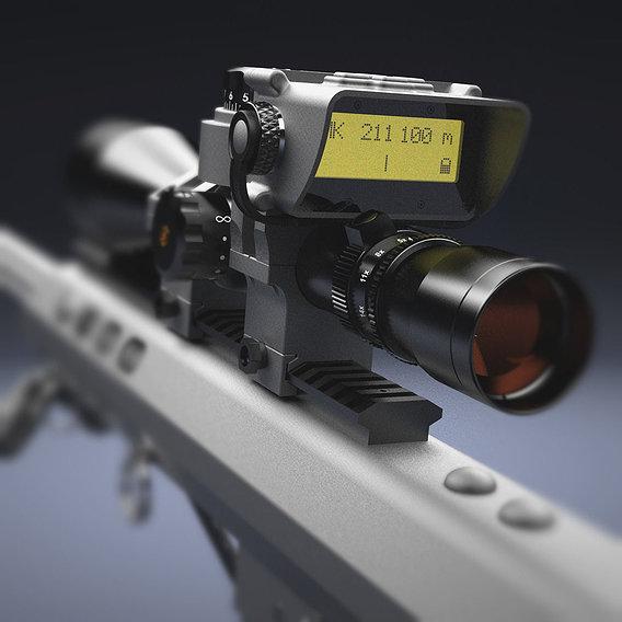 "Telescopic sight ""Leupold"" with BORS"