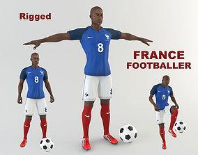 France footballer 3D model