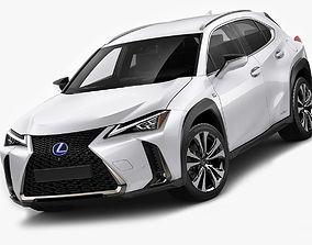 Lexus UX F-sport 2019 3D model