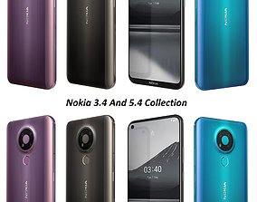electronic 3D Nokia 3 4 And 5 4 Collection