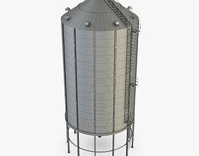 Grain Silo 3D model