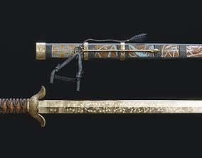 3D model Korean Small Sword