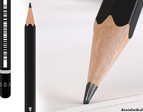 HD Black Pencil 3D