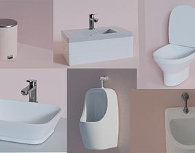 furniture-set 3D Bathroom Collection