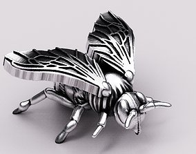 Bee pendant 3D printable model