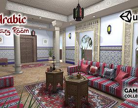 3D asset Arabic Living Room