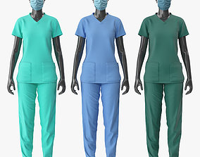 Nurse Uniform 3D model