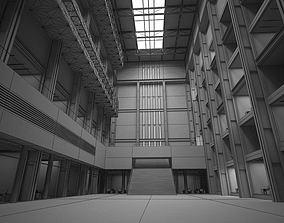 Interior Lobby Hall 3D model