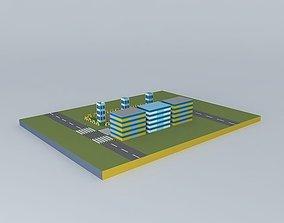 3D model Skech-town-physics 12