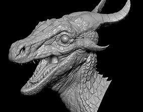 3D print model Forest Dragon Bust