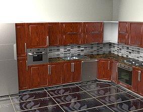 3D Flush Kitchen - All Dimensions