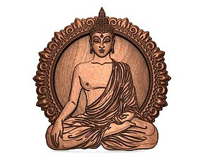 3D print model Buddha CNC