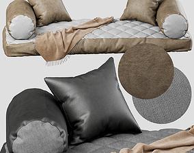 3D model Seat pillow set 1