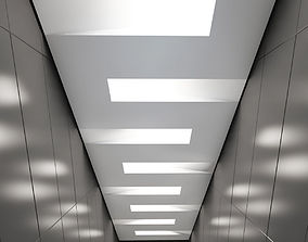 3D asset Suspended ceiling 002