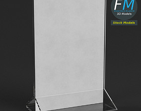 Table tent template 4 3D