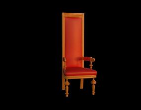 3D model Santa s seat PBR