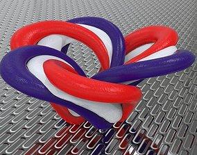 3D print model GRAVITY FLOWER KNOT HOMEDECOR
