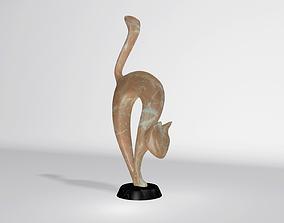 3D model Statuette Cat
