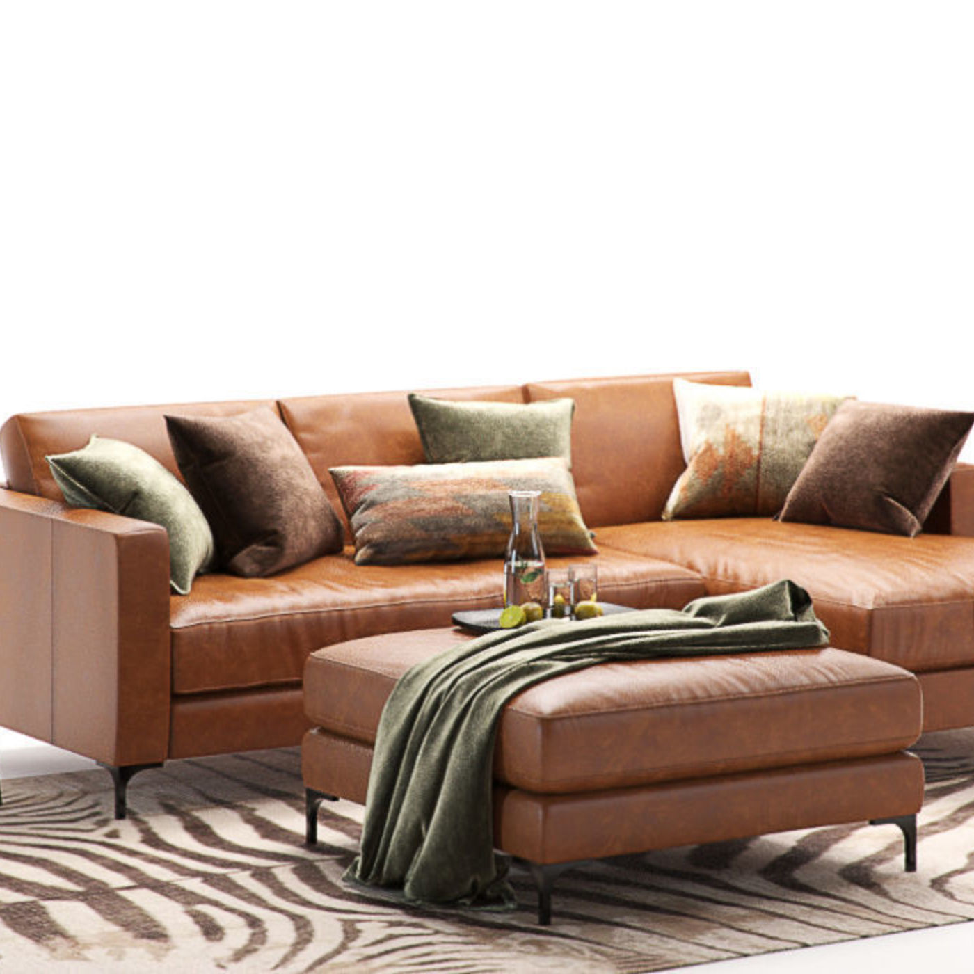 Enjoyable Furniture Visualization Pottery Barn Jake Leather Sofa 2 Caraccident5 Cool Chair Designs And Ideas Caraccident5Info