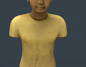 3D model Tutankhamun King